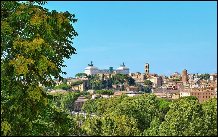 On the Aventine Hill, one of the seven hills of Rome