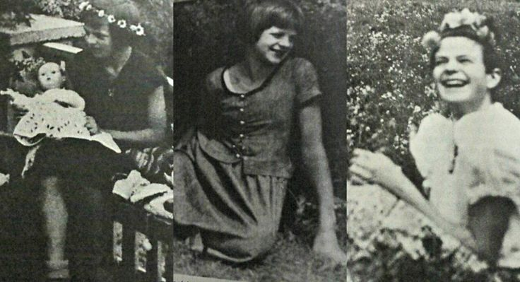 Some pictures I found of Sophie Scholl. The first was taken in 1933 or 1934 in Ulm, the second when Sophie was 11 or 12 and the third was taken in the spring of 1940 when she was 19. Note: These photos can also be found in At the Heart of the White...