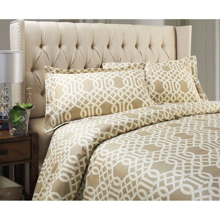Jennifer Taylor 28103-3-842844 Long Beach 200 Thread Count 3-Piece Duvet Set