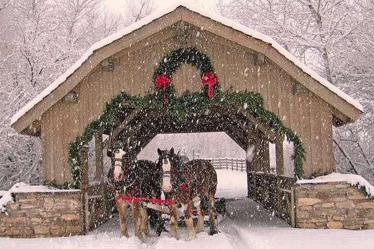 Christmas Covered Bridge...