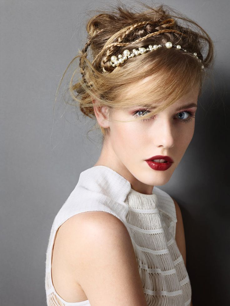 Michelle Wears Glam Headwear for Madame Figaro