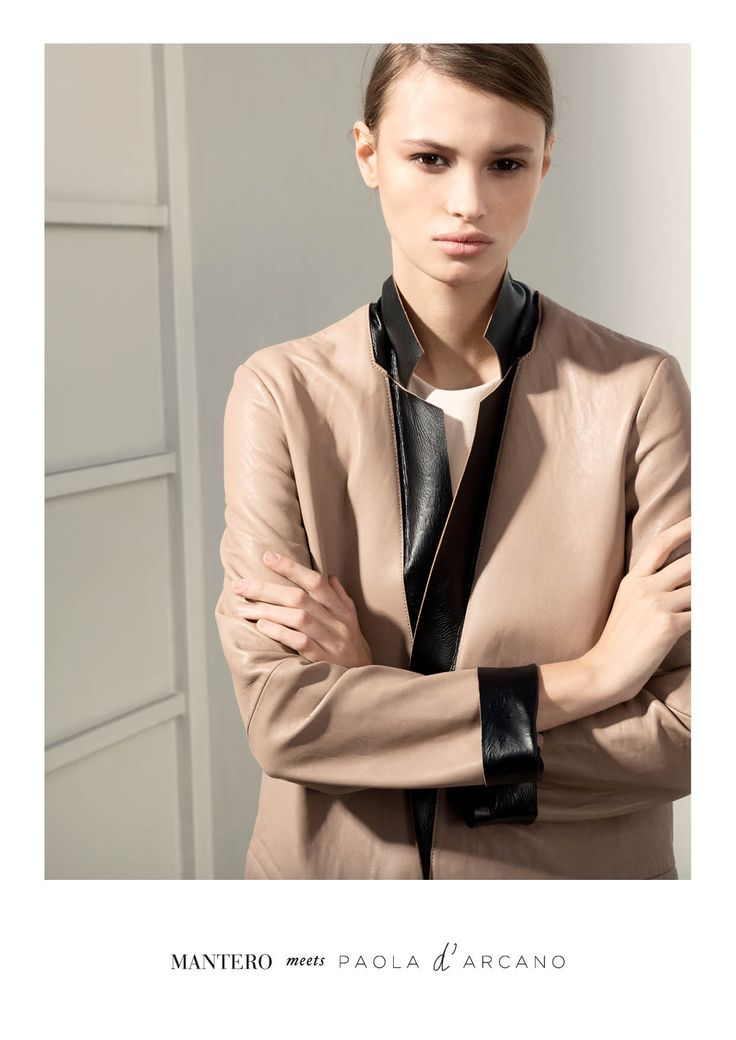 MANTERO meets PAOLA d' ARCANO SS15 \ special capsule collection