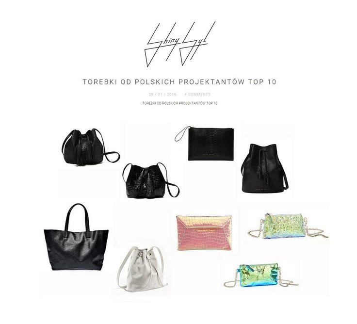 Blogerka Shiny Syl wytypowała naszą markę w przewodniku zakupowym po 10 najlepszych polskich projektantach torebek.  http://shinysyl.com/torebki-od-polskich-projektantow-top-10/