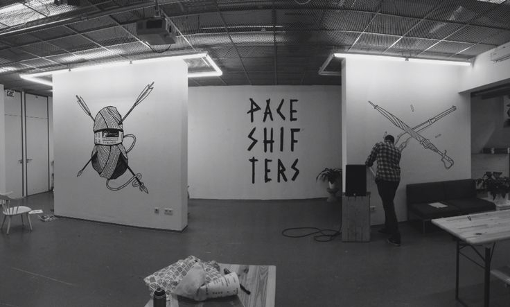 """Paceshifters """"Breach"""" expo by Pfff illustrations"""