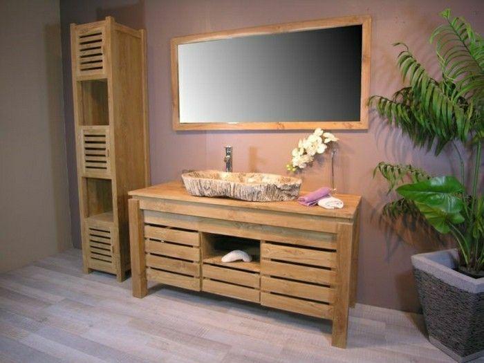 Massive Möbel In Badezimmer Rustikal