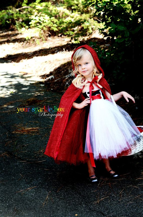 Little Red Riding Hood Costume nb 12m 2t 3t 4t. $129.94, via Etsy.
