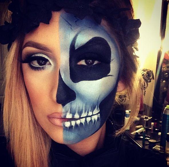 Les 86 meilleures images du tableau grimage adulte halloween sur pinterest maquillage - Maquillage halloween sexy ...