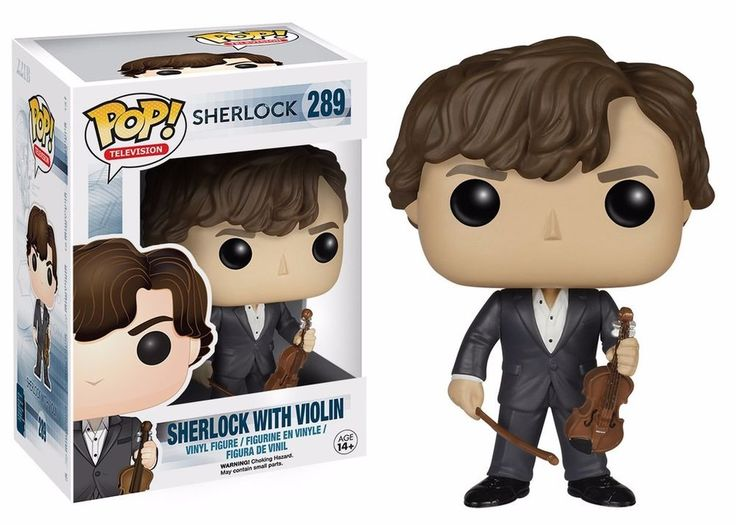 Funko Pop! Sherlock TV Series Sherlock With Violin Vinyl Figure