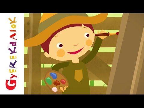 Két szál pünkösdrózsa (gyerekdal, rajzfilm gyerekeknek)