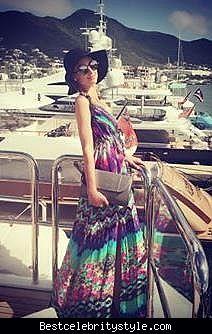 nice Paris Hilton St. Barts Instagram Pic   Style