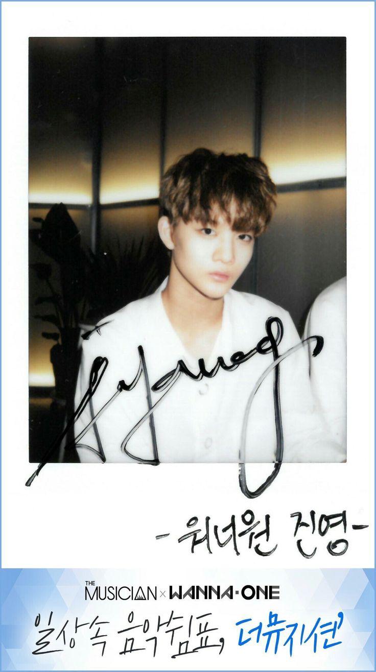 Wanna One x The Musician Polaroids - Bae Jinyoung
