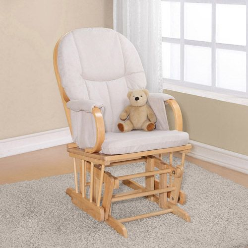 dorel glider rocker natural