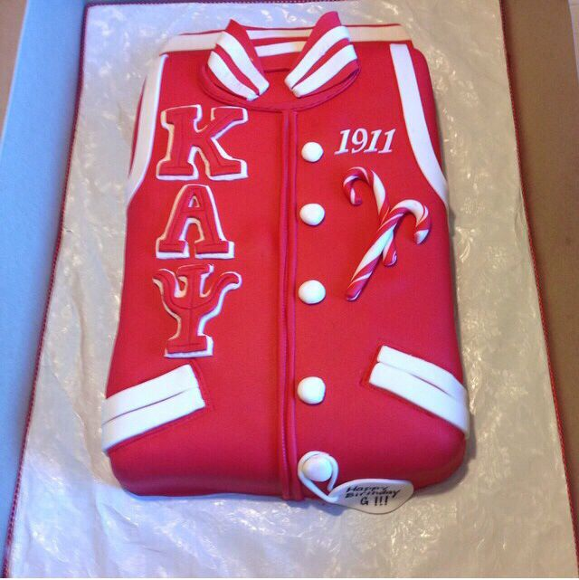 Hopefully I marry a kappa man who loves the lord. In hopes of that, I'd get this cake for his grooms cake.
