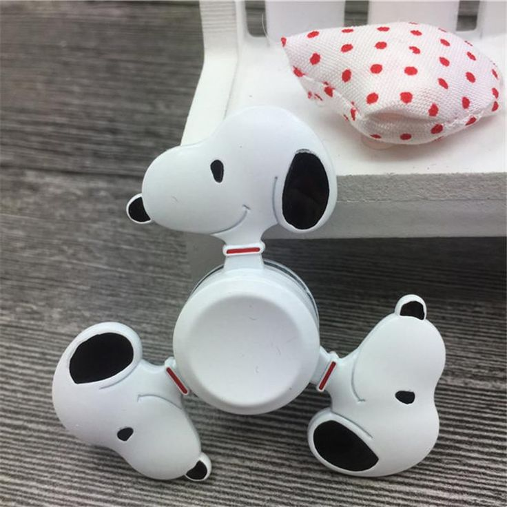 Snoopy cartoon dog nostalgia Fidget Spinner