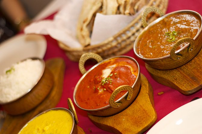 Curries at Sitar Restaurant Barbados