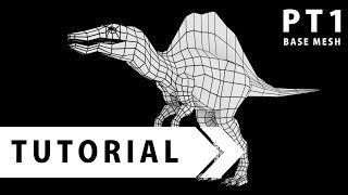 Hokiroya, un ou une 3Déiste de talent qui crée ou recrée toutes sortes de choses avec le logiciel Blender, ici un dinosaure. (en anglais)