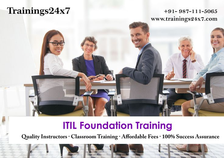 ITILFoundation Course  with Trainings24x7 WHAT WE PROVIDE IN TRAINING : • 2-days accredited ITIL® foundation Training including ITIL® Foundation Exam. • 2 days high quality Training with techniques to make you learn faster. • Approved by leading ITIL® Examination Institute-CSME, USA. • Convenient ITIL® Training location. • Industry expert faculty with years of real industry experience. • Instructors officially accredited by CSME, USA. • Chapters' and Mock tests that close to real exams. •…