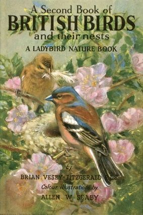 A Second Book of British Birds cover