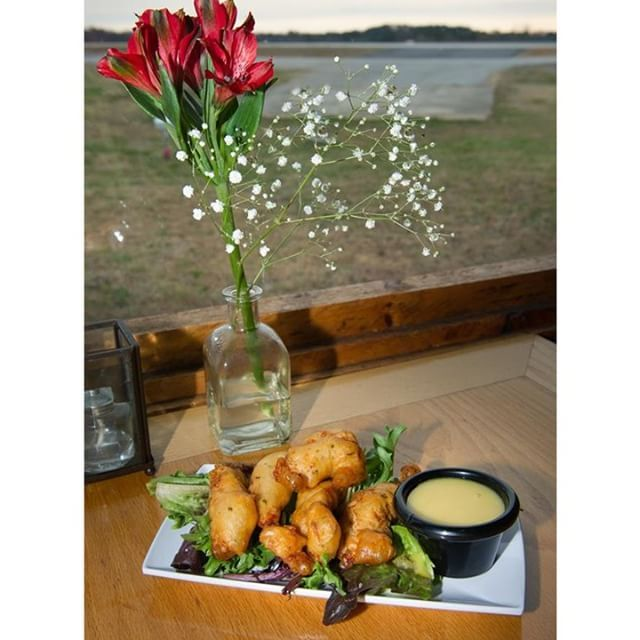 A meal with a view! The 57th Fighter Group Restaurant offers great views of PDK Airport and delicious food. #discoverdekalb