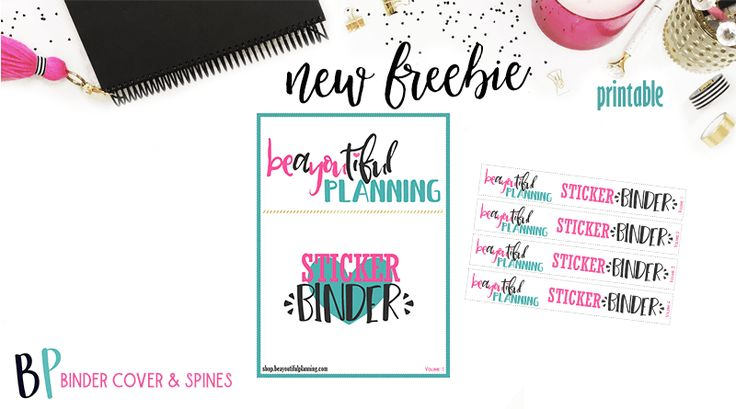 Hello Planner Girls!! I created this free printable for you to use to get your Printable Stickers Organized from both
