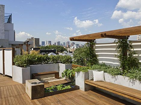 54 best Rooftop Decks images on Pinterest | Decks, Landscaping and ...