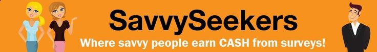 SavvySeekers - Free market research online surveys to earn rewards
