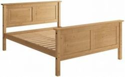 Mexican 5' High Bedstead is the stylish and conventional furniture that will last for a lifetime. More info visit our website: http://solidwoodfurniture.co/product-details-corona-mexican-pine--4797-mexican-high-bedstead.html