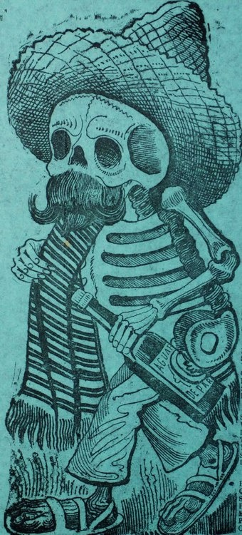 40 best jos guadalupe posada images on pinterest la catrina ap while working at the printing house of antonio vanegas arroyo posada created a variety of images in calavera form that were used to make fandeluxe Images