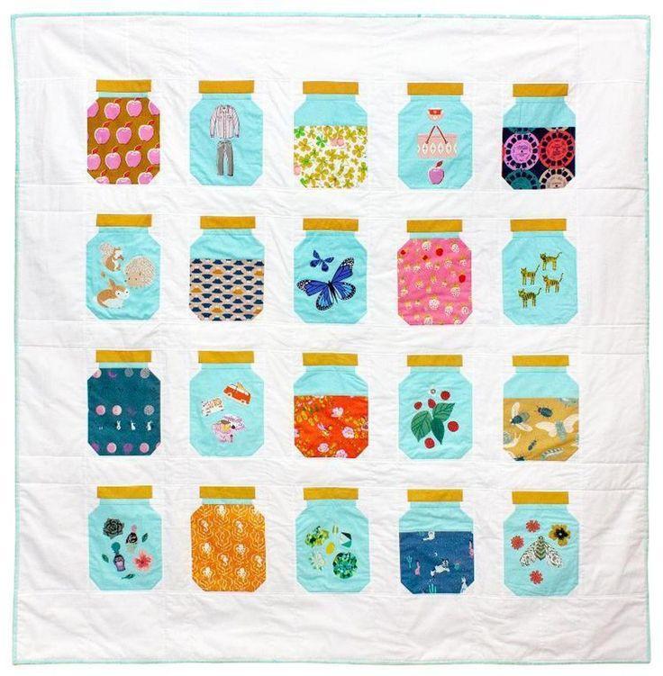 Treasure Jar Quilt   Craftsy