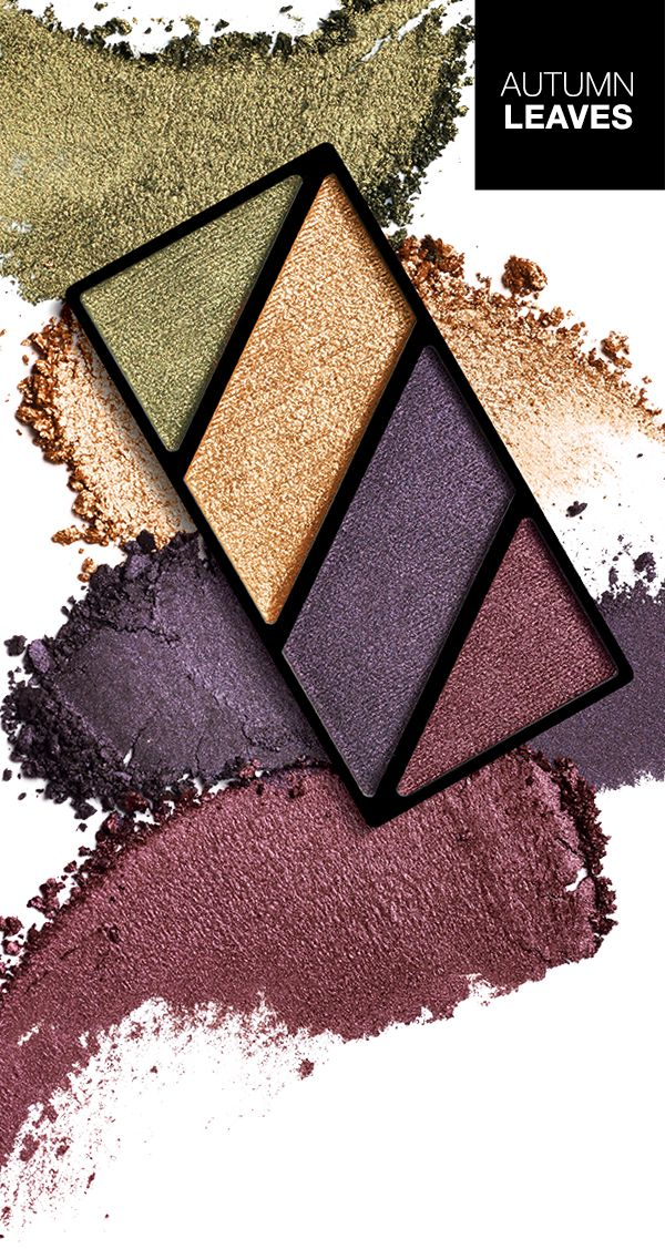 Our beautiful Autumn Leaves mineral eye colour quad.
