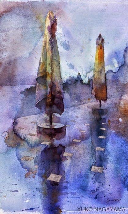 Yuko Nagayama 永山裕子, 1963 ~ Symbolic Watercolor painter | Tutt'Art@