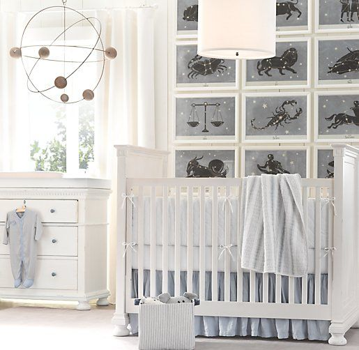 Take Your Baby's Nursery To Outer Space With The Orbital Mobile - and all the astronomical signs.