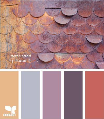 Design Seeds - Patinaed hues