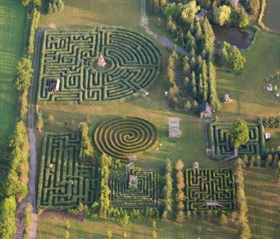 599 best Labyrinth You A-Maze Me images on Pinterest | Spirals ... Areial Views Garden Designs Labyrinth on