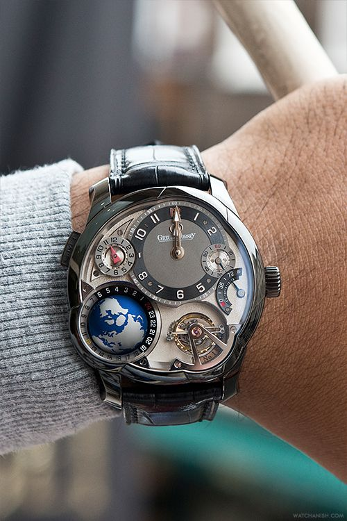 Introducing the £650,000 Greubel Forsey Tourbillon GMT.Read the full article on WatchAnish.com.