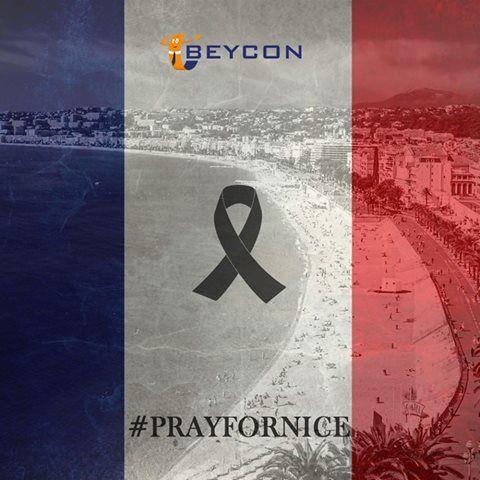 Nice'de yaşanan acı olay karşısında derin üzüntü duymaktayız. Yaşamını yitirenleri saygı ve rahmetle anıyor, yaralılara acil şifalar diliyoruz.  #Prayfornice #France