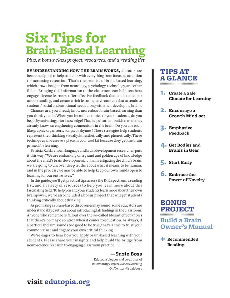 """a look at brain based learning Brain based learning and neuroscience – what the research says classic posts, myths and  overwhelmingly, people in my audiences answer: """"c research on brain-based learning and neuroscience"""" in the workplace learning field, at this point in time, we are sold on neuroscience  look again: effects of brain images and mind–brain."""