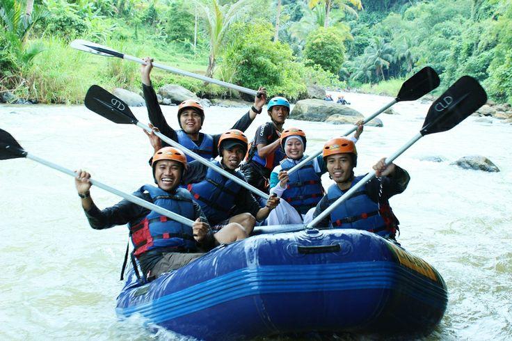 SMILING ADV! : Adventure with CARE #Caldera_Indonesia #Rafting Citarik - Sukabumi, West Java Indonesia