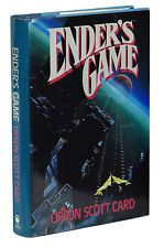 Ender's Game ~ by Orson Scott Card ~ First Edition 1985 ~ 1st Printing ~ TOR