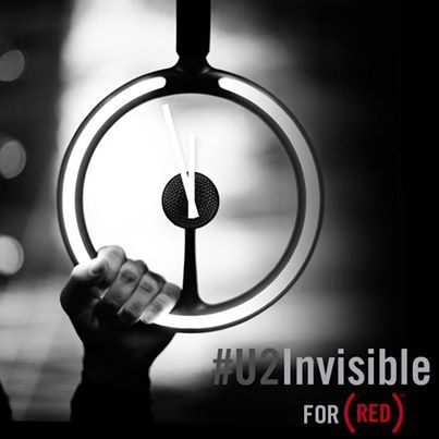 "Download U2's new song, ""Invisible,"" that will be premiering today (2/2) to help (RED) fight AIDS.  It will be FREE to download for 24 hours! For every download, Bank of America will give $1 to fight AIDS!"