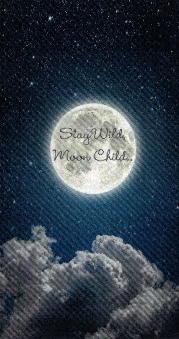 Moon Child Wallpaper Moon Child Kids Wallpaper Phone Wallpaper
