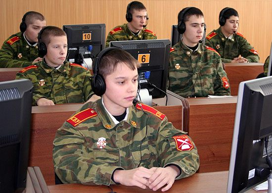 Suvorov Military School was organized in Ulyanovsk on the orders of the Minister of Defense of the USSR on August 17, 1991. In February 2013 School awarded the status of Ulyanovsk Guards Suvorov Military School of airborne troops.
