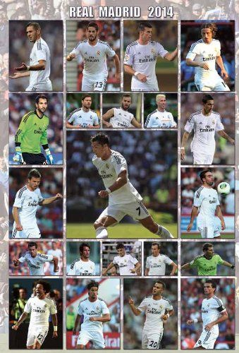 O-7381 Real Madrid 2014 - Football , Soccer, Sport Collections,decorative Poster Print Vintage New Size: 35 X... $8.99