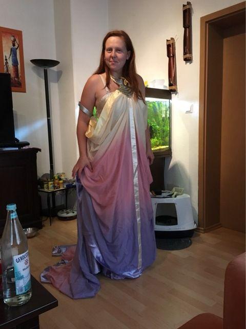Tienda Online 2016 star wars Padme Amidala traje la Venganza de los Sith lago vestido de Star Wars Padme Amidala traje cosplay vestido de encargo hecho   Aliexpress móvil