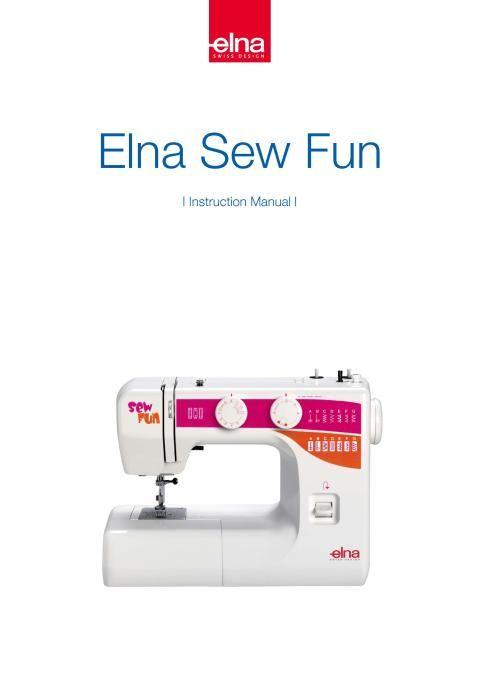 Elna Sew Fun Sewing Machine Instruction Manual Sewing Machine Extraordinary Bobbins For Elna Sewing Machine
