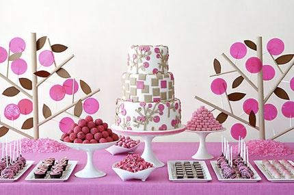 bruiloft dessert