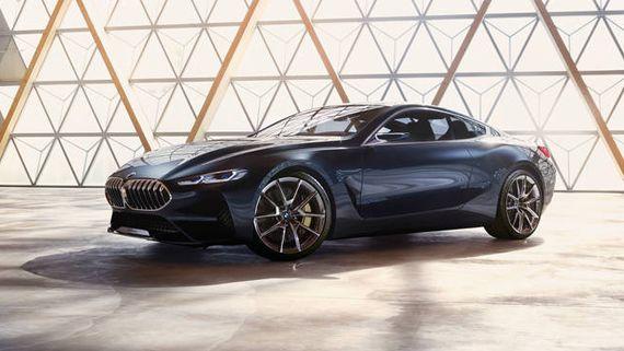 Концепт купе BMW Concept 8 series / БМВ 8-серии