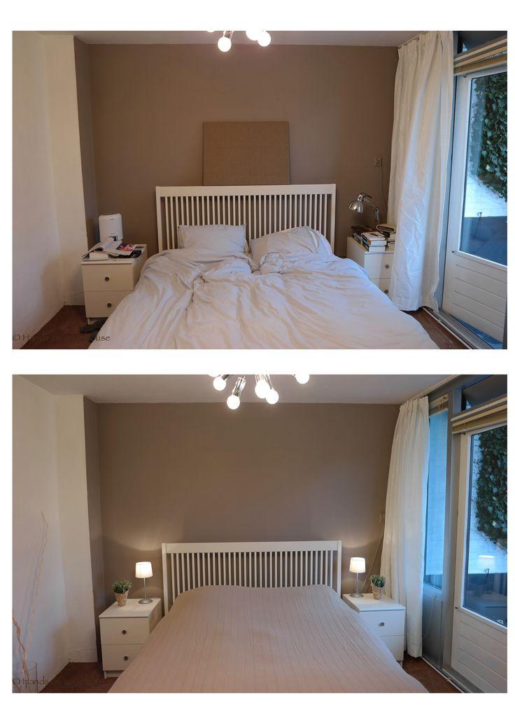 Voor en na verkoopstyling slaapkamer Gorcum