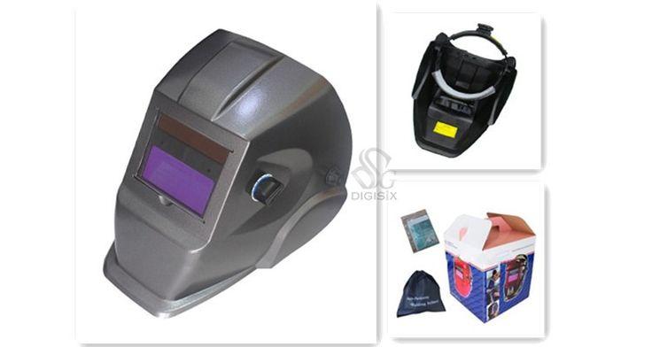 Best Price 4 Arc Sensor Big Sreen Solar Auto darkening  Electric Welding Mask/helmets/welder Cap EH-113