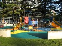 Dunningham Park. Updated in 2008 - Beachside at Cronulla. Well maintained and toilets close by
